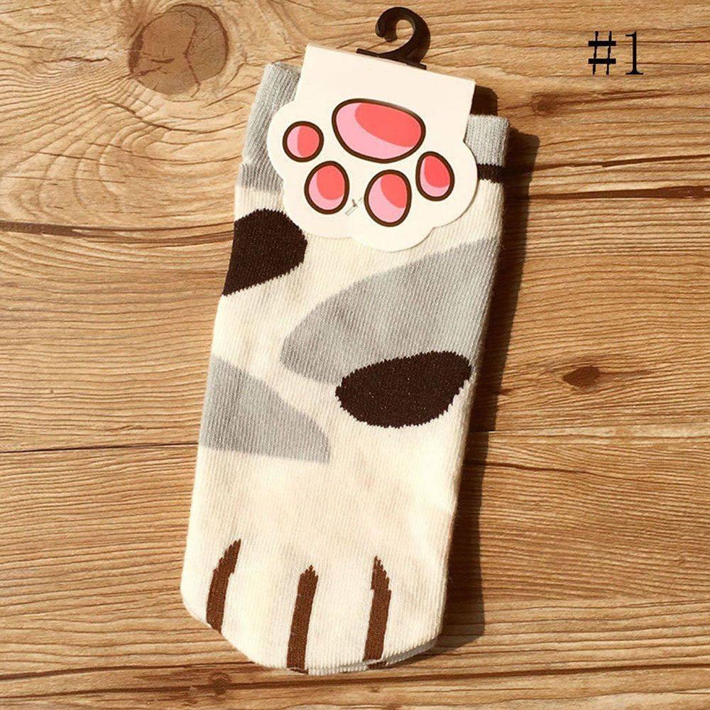 Women's Kawaii Cat Paw Printed Socks Women Accessories Socks a1fa27779242b4902f7ae3: 1 3 4 5 6